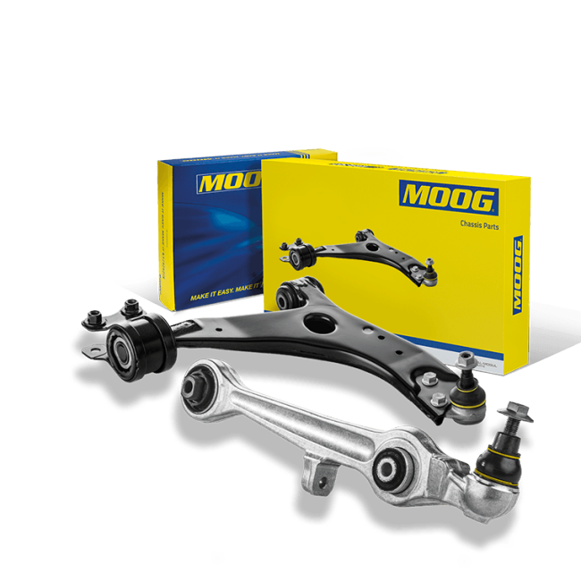 Moog track control and wishbone arms are quality parts moog control arms product detail sciox Gallery